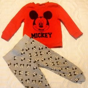 Mickey Mouse Boy's Sweats outfit